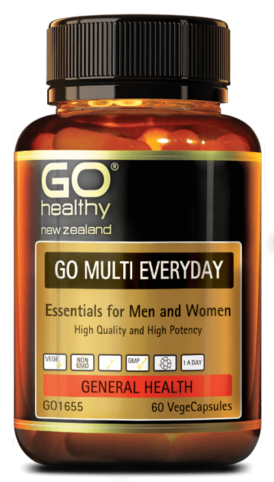GO Healthy Multi Everyday 60 Vege caps