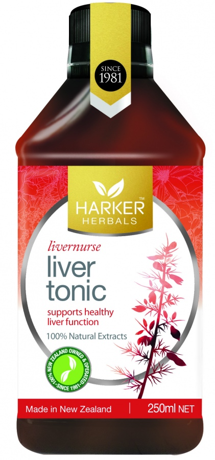 Harker Herbal Liver Tonic 250ml