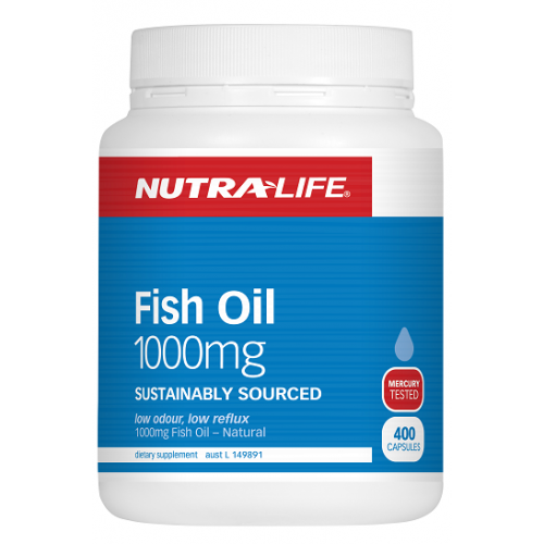 Nutra-Life Fish Oil 1000mg 400 caps