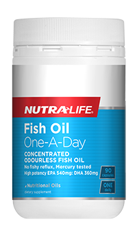 Nutra-Life Fish Oil Ocean Clean 1-a-day 90s