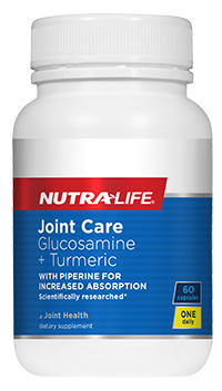 Nutra-Life Joint Care 1 a Day Glucosamine + Turmeric 120 caps