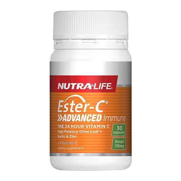 Nutra-Life Ester C Advanced Immune 30 Caps