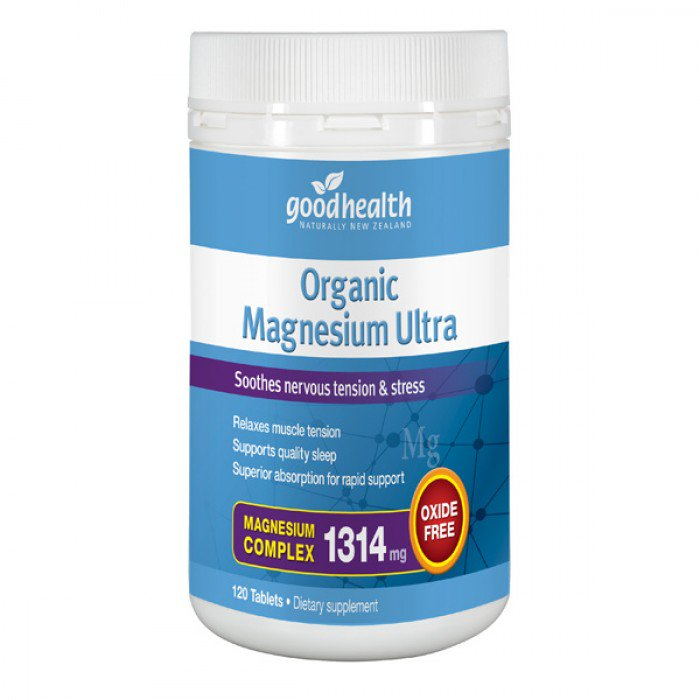 Good Health Organic Magnesium Ultra 120 tab