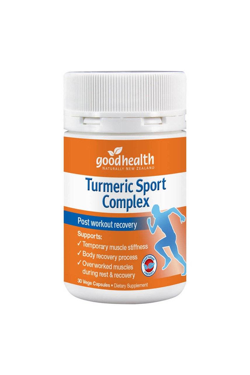 Good Health Turmeric Sport Complex 30 caps