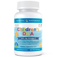 NORDIC Children DHA cap Strawberry 90 caps