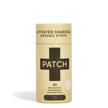 PATCH Adhesive Strip Activated Charcoal 25 pack