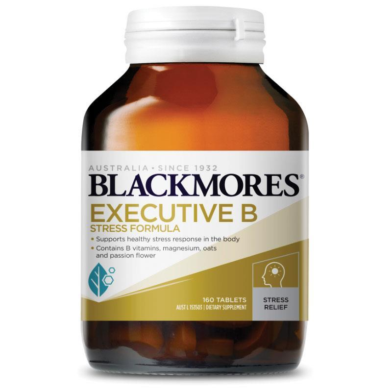 Blackmores Executive B Stress Formula 160 Tabs