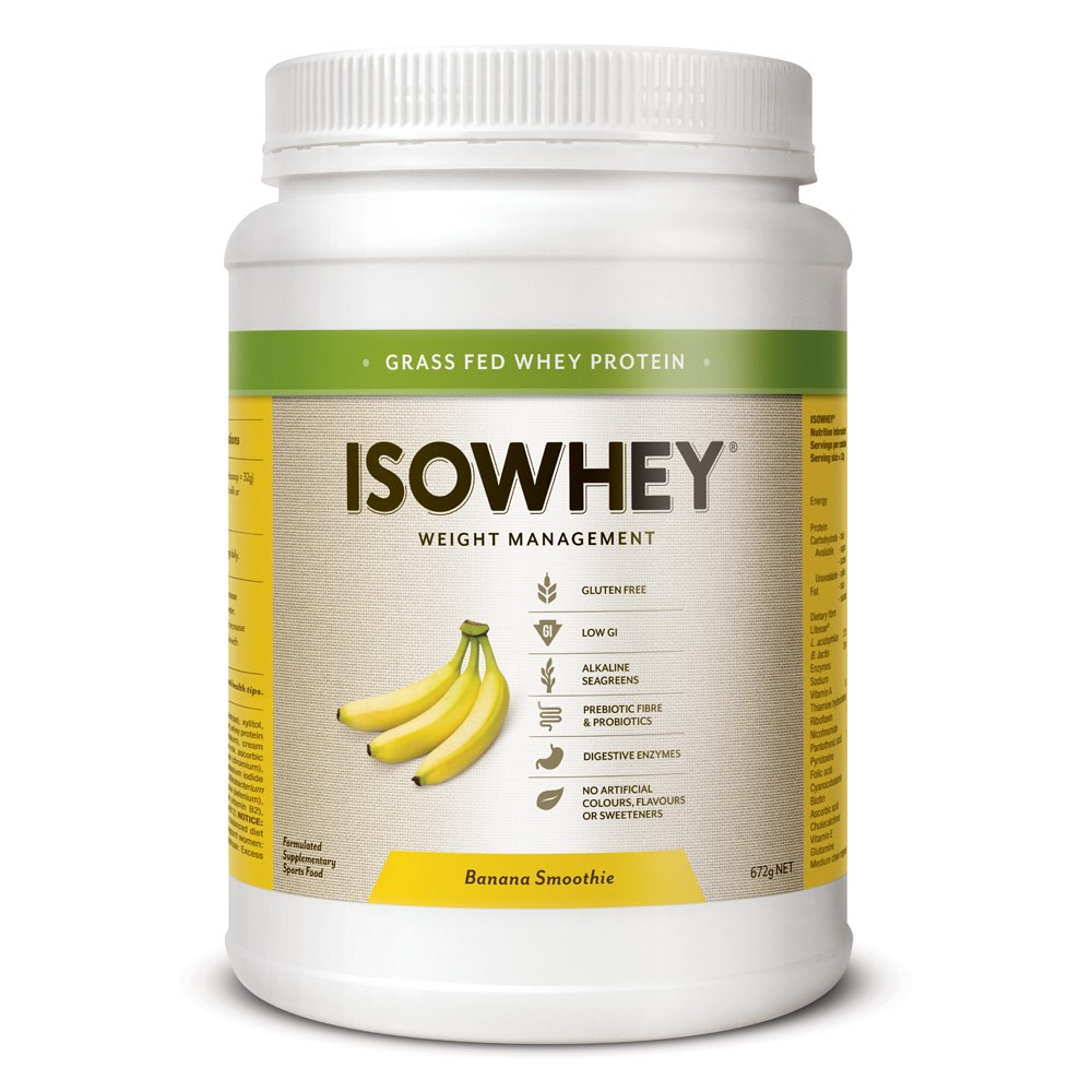 IsoWhey Banana Smoothie 672g