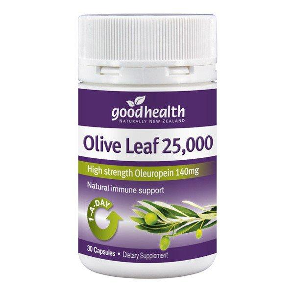 Good Health Olive Leaf 25000mg 30caps