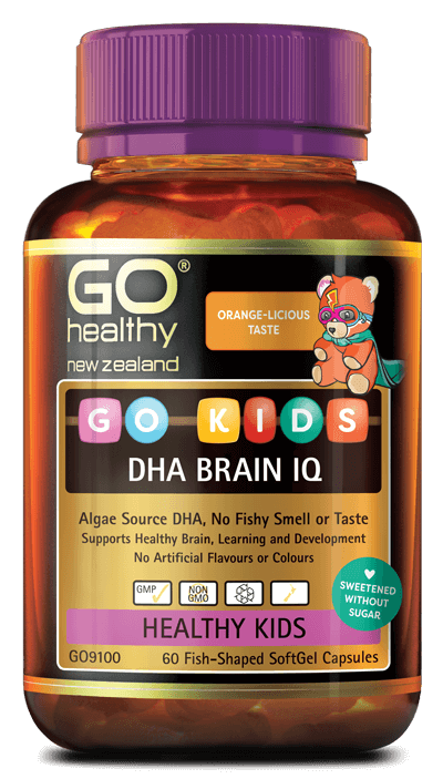 Go Healthy Kids DHA Brain IQ 60 Caps