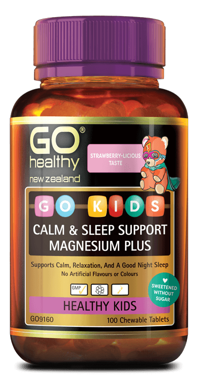 Go Healthy Kids Calm & Stress Magnesium Plus 100 Chew
