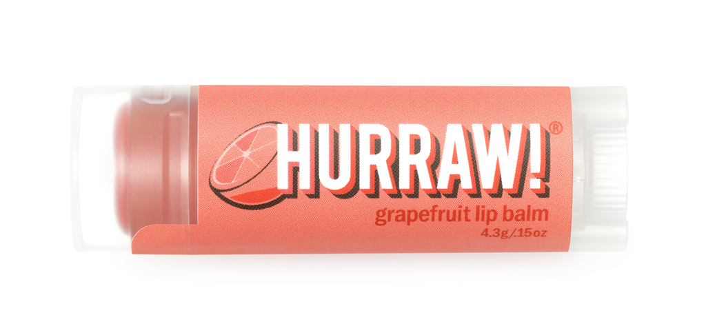 Hurraw Lip Balm Grapefruit 4.3g
