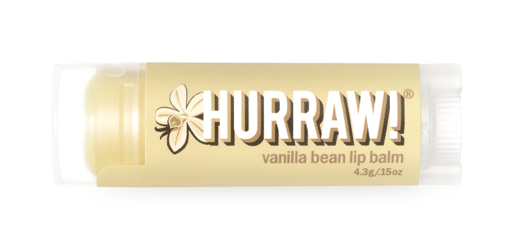 Hurraw Lip Balm Vanilla Bean 4.3g