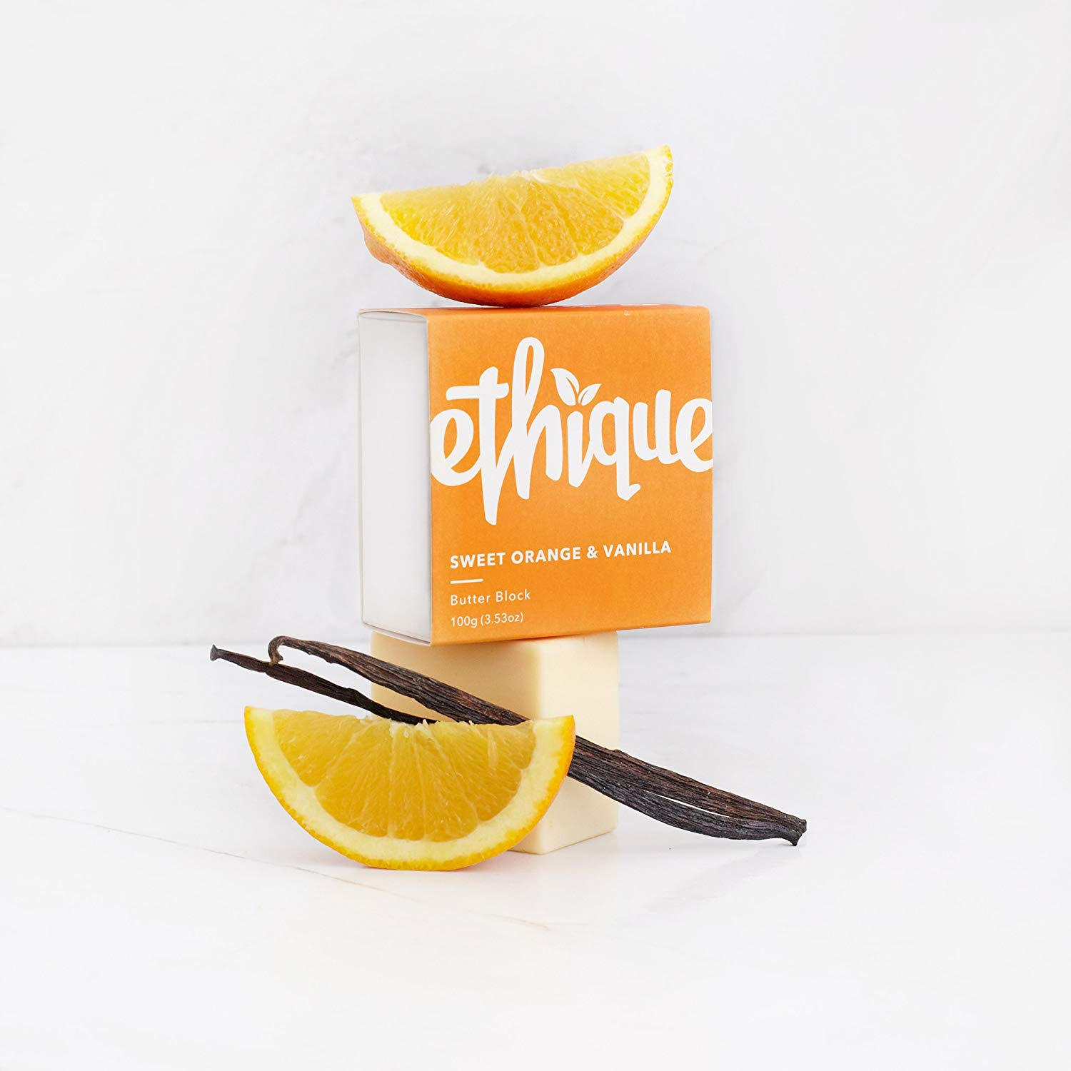 ETHIQUE Butter Block Orange & Vanilla 100g