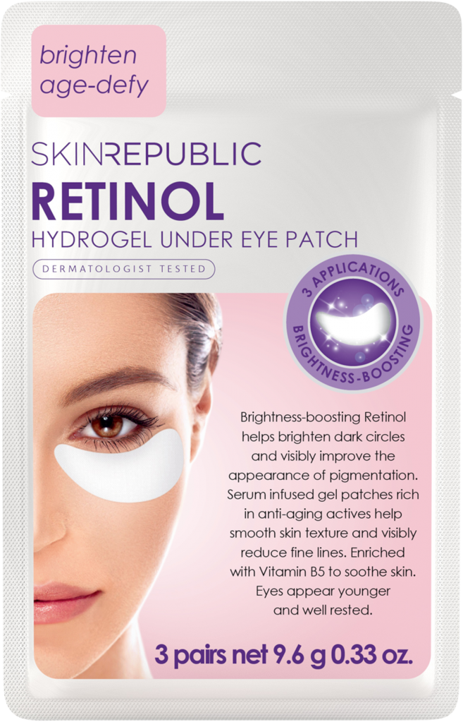 Skin Republic Retinol Under Eye Patches 3pair