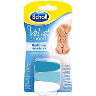 SCHOLL Velvet Nail Care Heads 3