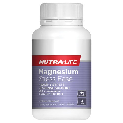 Nutra-Life Magnesium Stress Ease 60 Cap