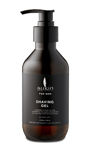 Sukin Men Shaving Gel 225ml