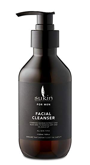 Sukin Men Facial Cleanser 225ml