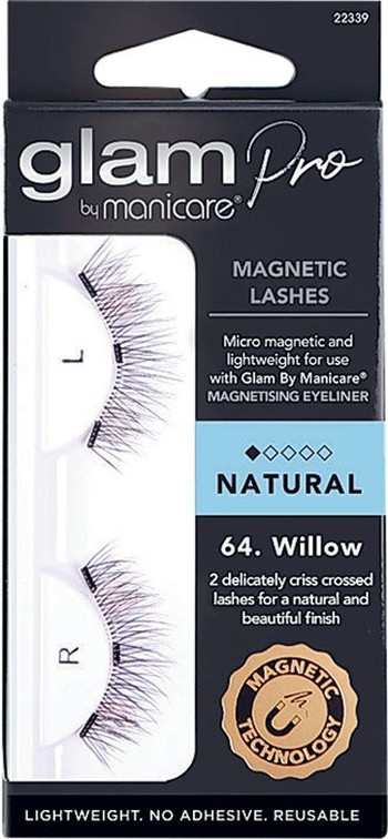 Manicare Glam Pro Willow Magnetic Lash Natural