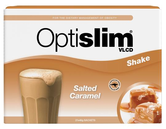 Optislim VLCD Meal Replacement Shake Salted Caramel 40g