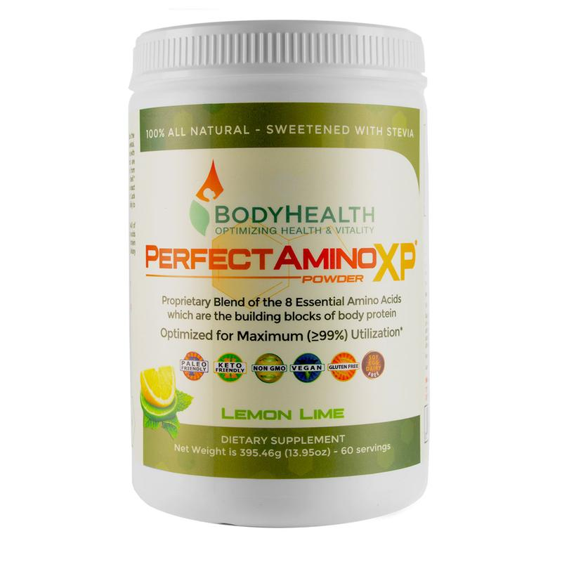 Perfect Amino Lemon/Lime Powder 395.45g (60 Serves)