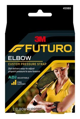 FUTURO Supp Adjustable Tennis Elbow  Black 1 size