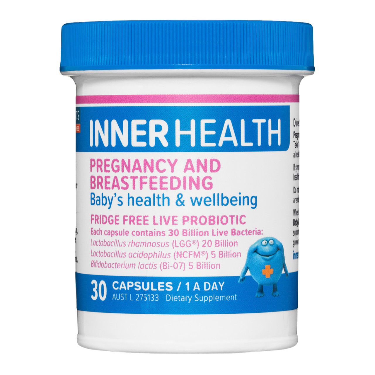Ethical Nutrients Inner Health Pregnancy &Breast Feeding Shelf Stable 30cap
