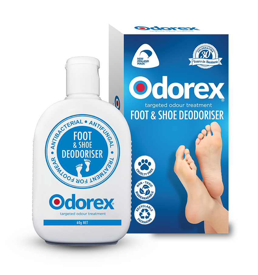 ODOREX Foot +Shoe Deodoriser Original 60g