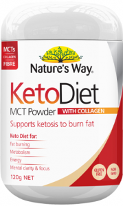 NATURES WAY Keto Diet MCT Pwd 120g