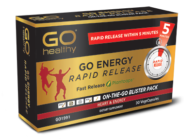 Go Healthy Energy Rapid Release 30 Vege Caps