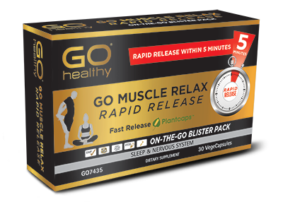 Go Healthy Muscle Relax Rapid Release 30 Vege Caps
