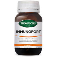 Thompsons Immunofort Tablets 60tabs