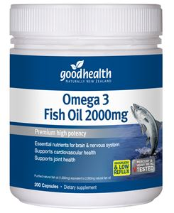 Good Health Omega 3 2000mg 230caps