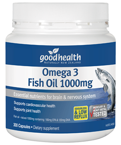 Good Health Omega 3 Fish Oil 400caps