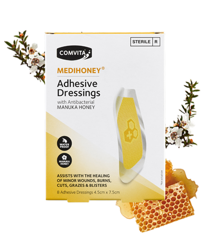 COMVITA Medihoney Adhesive Dressing Large 8