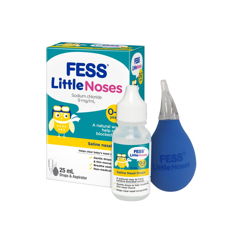 FESS Little Noses Drops & Aspirator 25ml