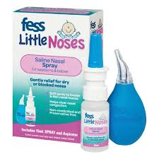 FESS Little Noses Spray & Aspirator 15ml