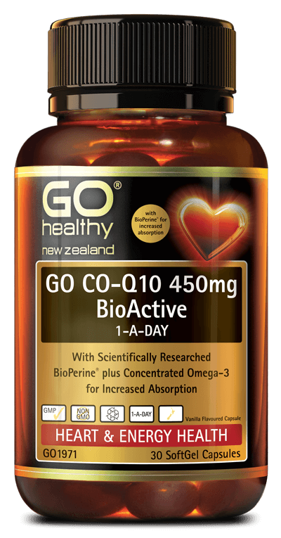 Go Healthy CoQ10 450mg BioActive 1ADay 30s