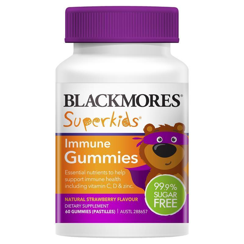 Blackmores Superkids Immune Gummies 60s