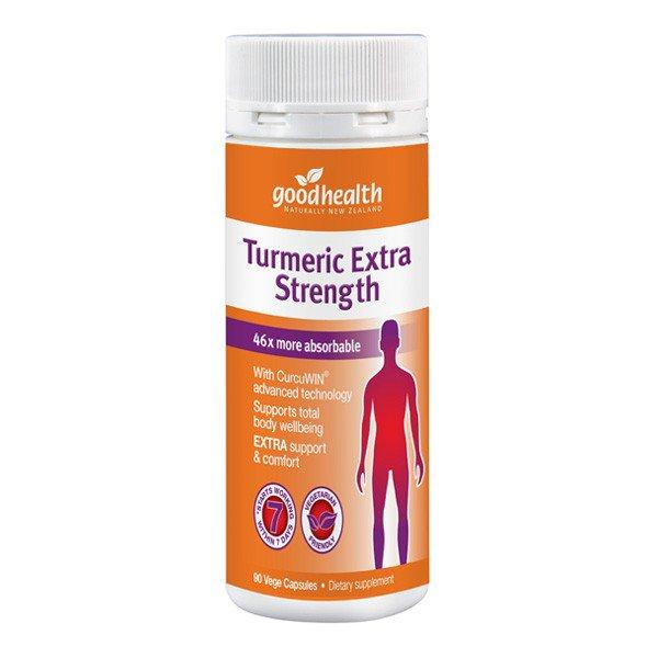 Good Health Turmeric Extra Strength 90 Cap