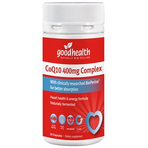 Good Health CoQ10 400mg 30caps