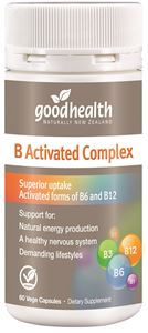 Good Health B Activated Complex 30cap