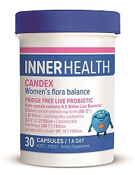 Ethical Nutrients Inner Health Candex Shlf 30cap