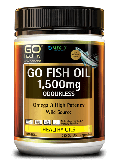 GO Healthy Fish Oil 1500mg 175 Caps
