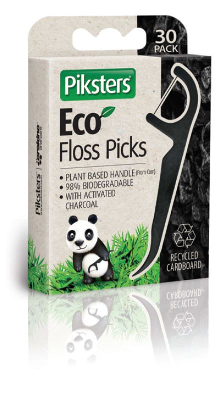 PIKSTERS Eco Floss Picks 30pk