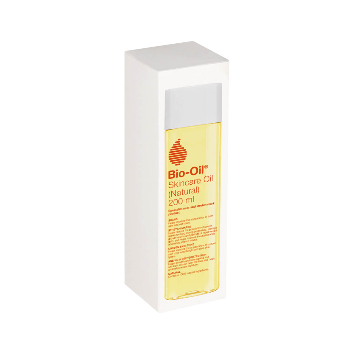 BIO Oil Natural Skincare Oil 200ml