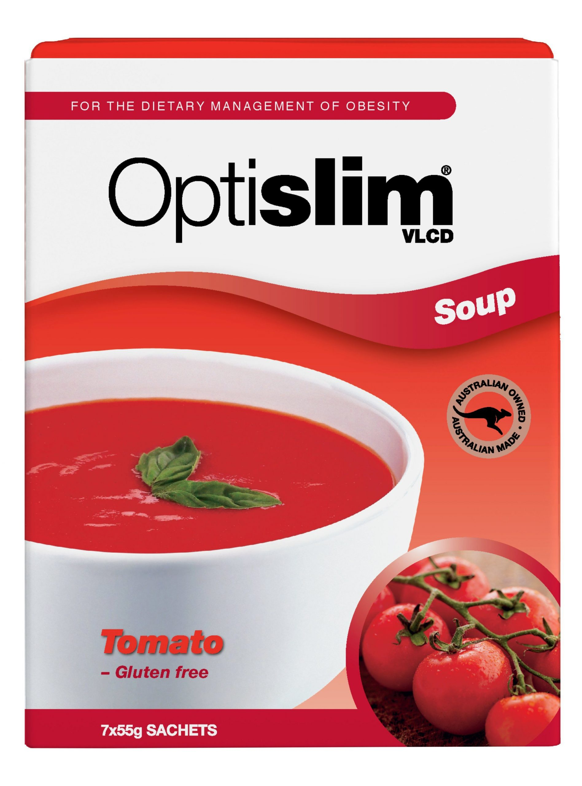 Optislim VLCD Soup Tomato 55g