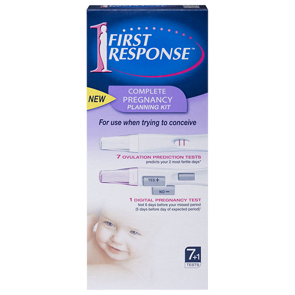 FIRST Response Complete Pregnancy Plan Kit