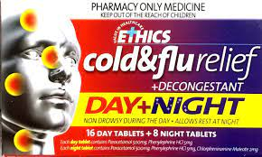 ETHICS Cold&Flu Relief Day&Night 24